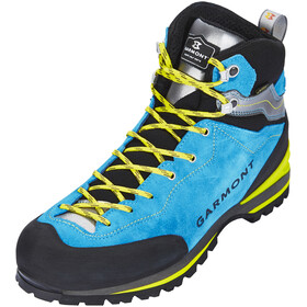 Garmont Ascent GTX Shoes Men Aqua Blue/Light Grey